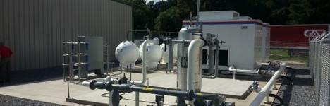 Langdale Fuels CNG Station