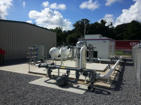 Langdale Fuels CNG Station